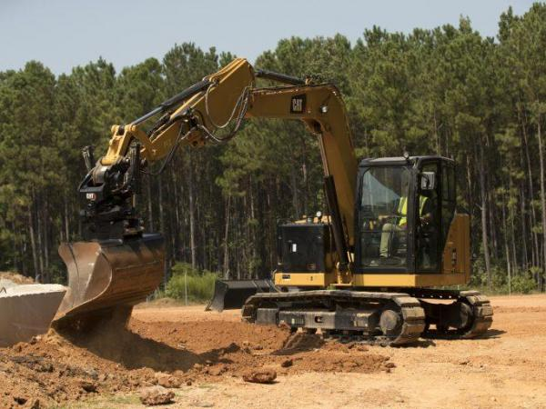 Cat Tiltrotators for Compact Excavators